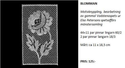 blomman text