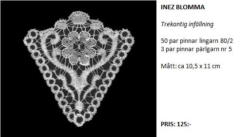 inez blomma text