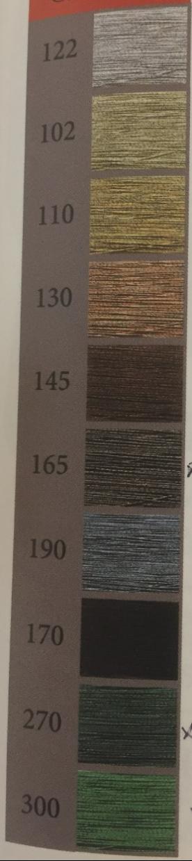 Metallic färger
