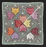 Tulipanaros Liten - Knypplad Färg Katalogbild