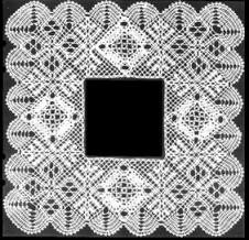 Enebård kvadrat