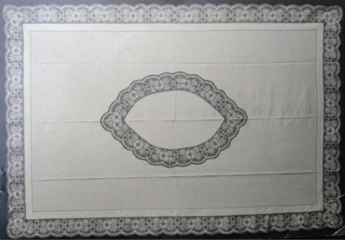 Enebård oval i rektangulär