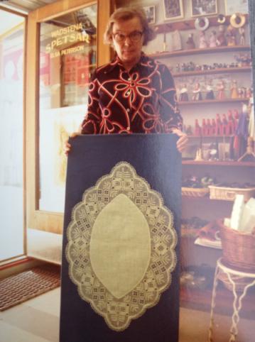 Mamma med enebård 1976