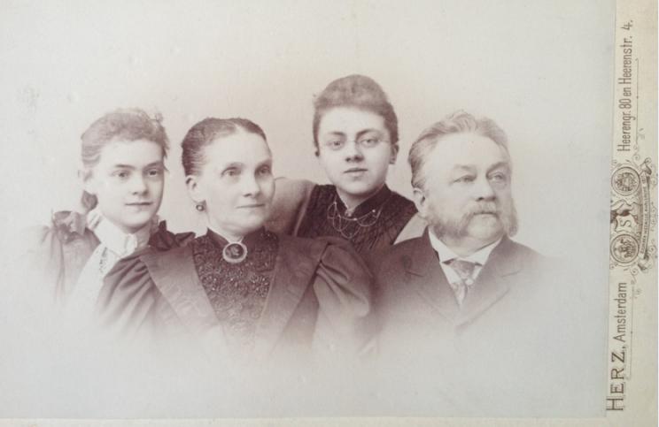 Frans familj