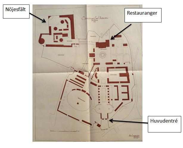 karta med pilar