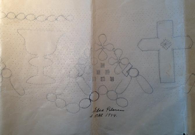 kors och klak utkast 1944