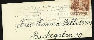 frimärke brev till Emma