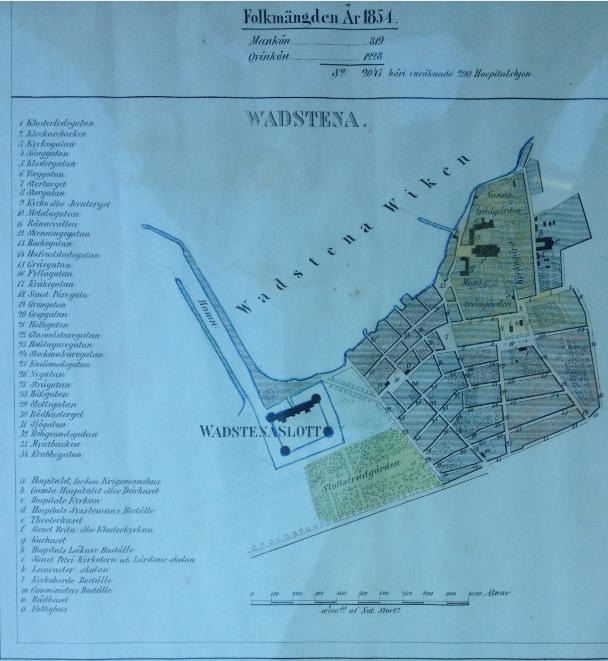 Vadstena 1854