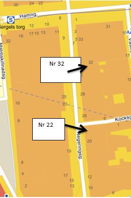 karta Regeringsgatan