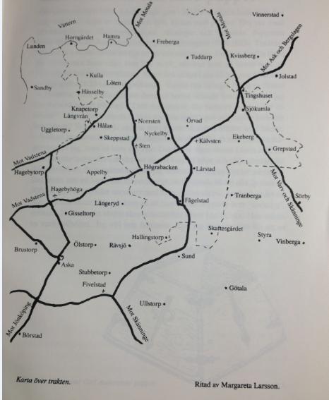 Karta Aska härad
