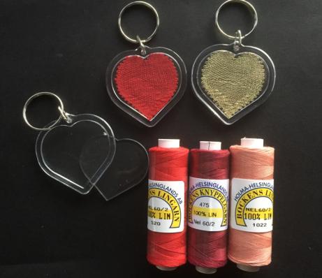 nyckelring hjärta