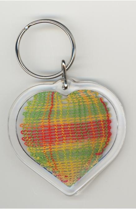 Multicolors-hjärta med dubbelslag